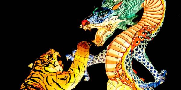 Pūķa tīģeris: populāra tiešsaistes kazino spēle